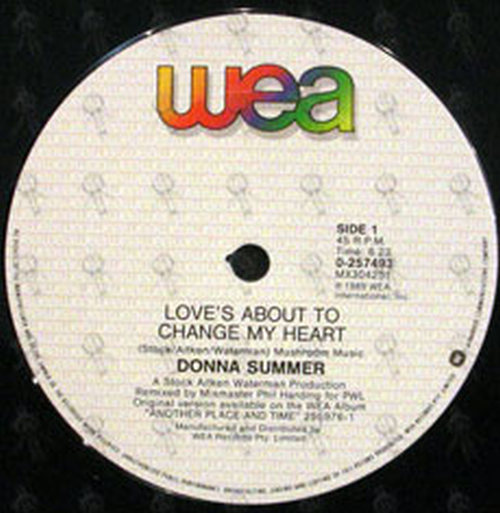 SUMMER-- DONNA - Love's About To Change My Heart - 3