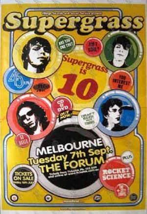 SUPERGRASS - 'The Forum