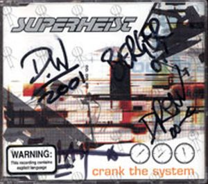 SUPERHEIST - Crank The System - 1