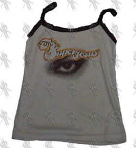 SUPERJESUS - Girls Light Brown 'Eye' Design Singlet - 1