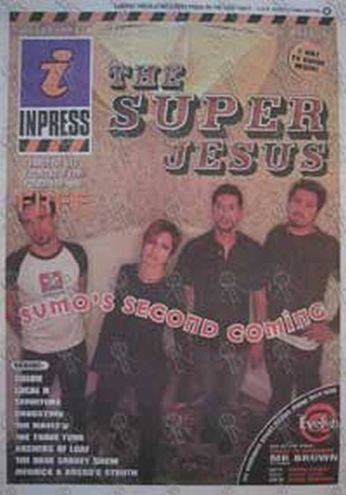 SUPERJESUS - 'Inpress' - No.534 18 November 1998 - Superjesus On The Cover - 1