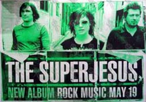 SUPERJESUS - 'Rock Music' Album Poster - 1
