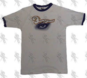 SUPERJESUS - White 'Eye' Design Bonds Style T-Shirt - 1