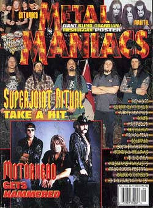 SUPERJOINT RITUAL - 'Metal Maniacs' - August 2002 - 1