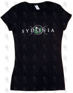 SYDONIA - Black '2008 Slipknot Tour' Fitted Girls T-Shirt - 1