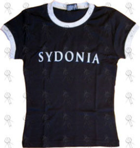 SYDONIA - Black & Silver 'Given To Destroyers' Girls T-Shirt - 1