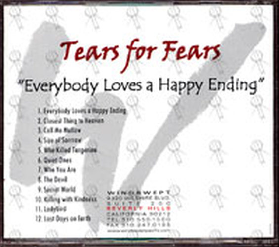 Tears For Fears Everybody Loves A Happy Ending Album