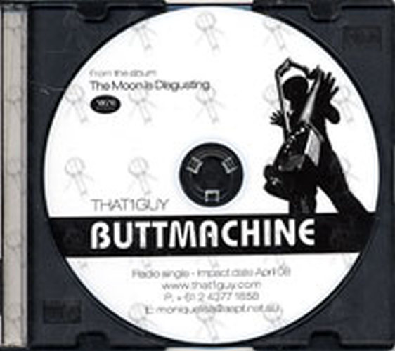 That1guy Buttmachine Cd Rare Records