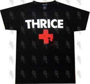 THRICE - Black Logo Girls' T-Shirt - 1