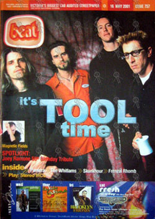 Kg 99 Magazines: Tool On Cover