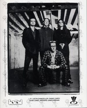 "TOOL - Black And White 8"" x 10"" Photograph - 1"