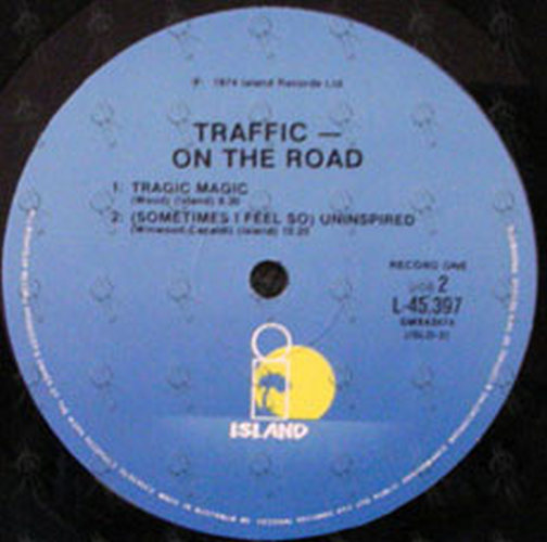 TRAFFIC - On The Road - 4