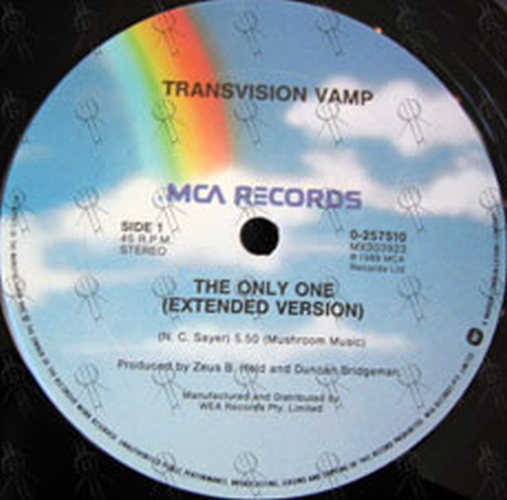 TRANSVISION VAMP - The Only One - 3