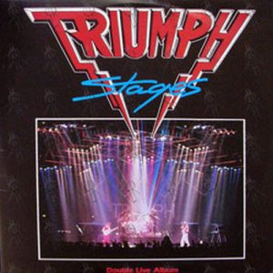Triumph Progressions Of Power 12 Inch Lp Vinyl