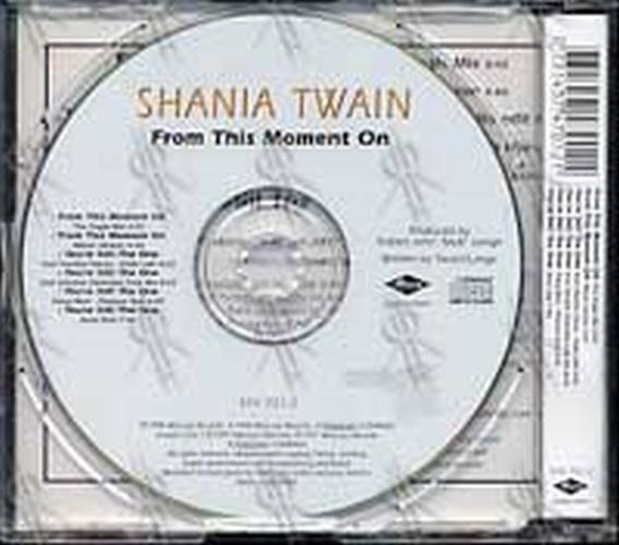 Twain Shania From This Moment On Cd Single Ep