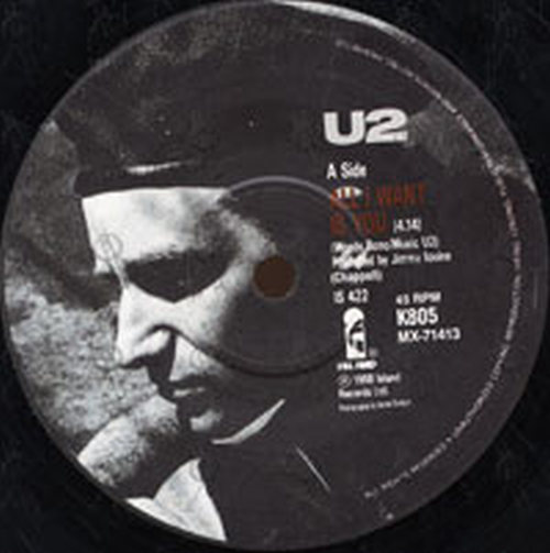 U2 - 'All I Want Is You' Vinyl And Sheet Music Custom Framed  (Miscellaneous, Other) | Rare Records