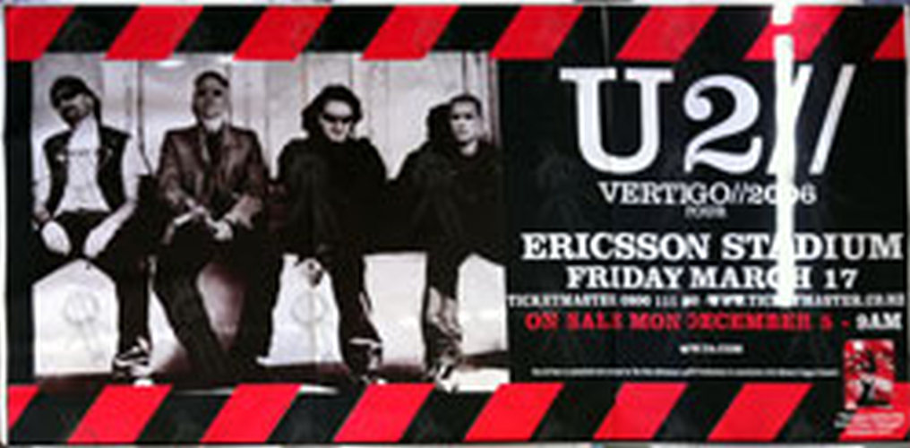 U2 - 'Vertigo' Tour - Fri 17 Mar