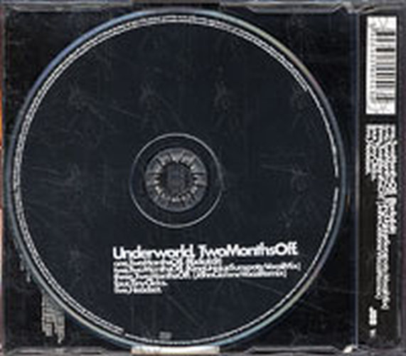Underworld Two Months Off Cd Single Ep Rare Records