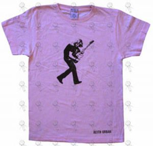 URBAN-- KEITH - Pink 'Be Here' Design Girls T-Shirt - 1