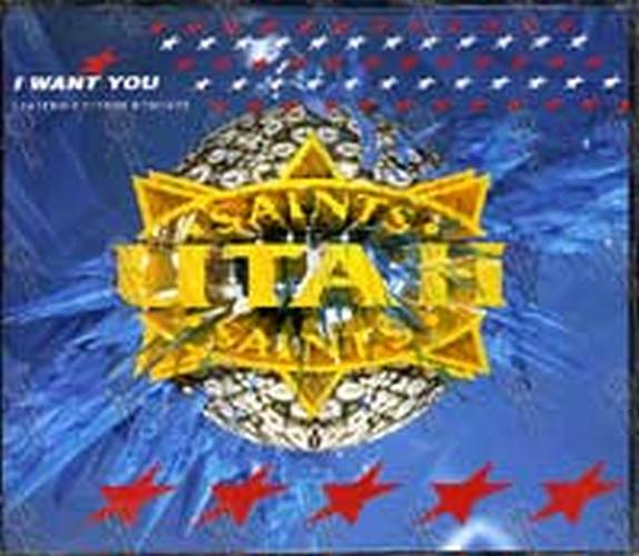 UTAH SAINTS - I Want You (Limited Edition Remixes) - 1