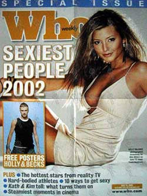 VALANCE-- HOLLY - 'Who Weekly' - July 2002 - Newsagent Promo - 1