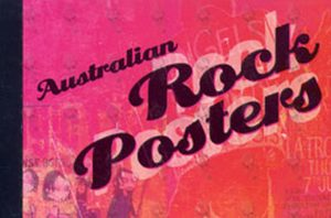 VARIOUS ARTISTS - Australian Rock Posters Stamp & Postcard Booklet - 1