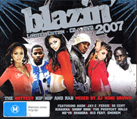 VARIOUS ARTISTS - Blazin' 2007 - 1