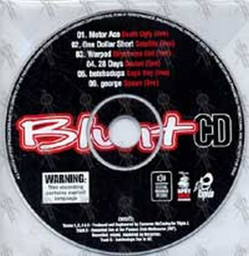 VARIOUS ARTISTS - Blunt Live CD - 1
