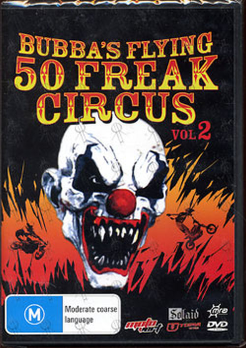 VARIOUS ARTISTS - Bubba's Flying 50 Freak Circus: Vol.2 - 1