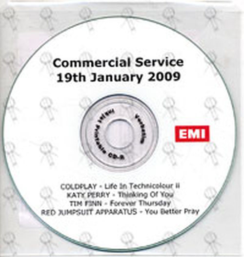 VARIOUS ARTISTS - Commercial Servie 19th January 2009 - 1