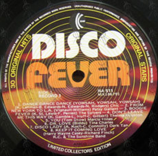 VARIOUS ARTISTS - Disco Fever (12 Inch / LP, Vinyl) | Rare Records