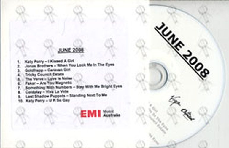 VARIOUS ARTISTS - EMI June 2008 Compilation - 1