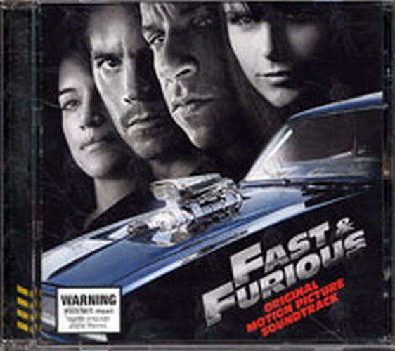 VARIOUS ARTISTS - Fast & The Furious: Original Motion Picture Soundtrack - 1