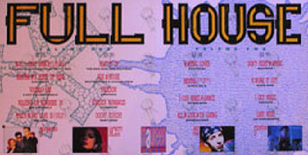 Various artists full house 1990 12 inch lp vinyl for House music 1990 songs