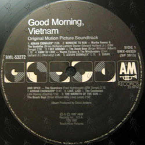 Various Artists Good Morning Vietnam Original Motion