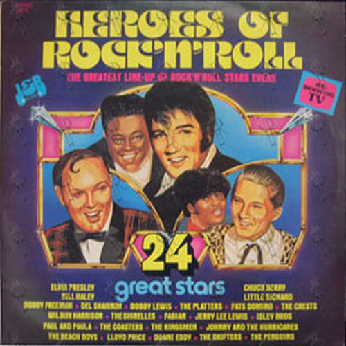 Various Artists Heroes Of Rock N Roll 12 Inch Lp