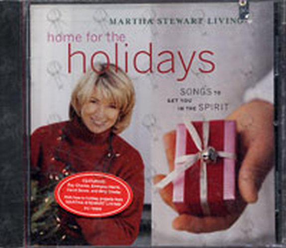 VARIOUS ARTISTS - Martha Stewart Living: Home For The Holidays - 1