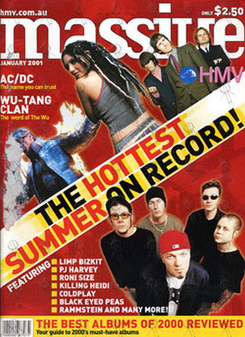 VARIOUS ARTISTS - 'Massive' - January 2001 - 'Hottest Summer On Record' Special - 1