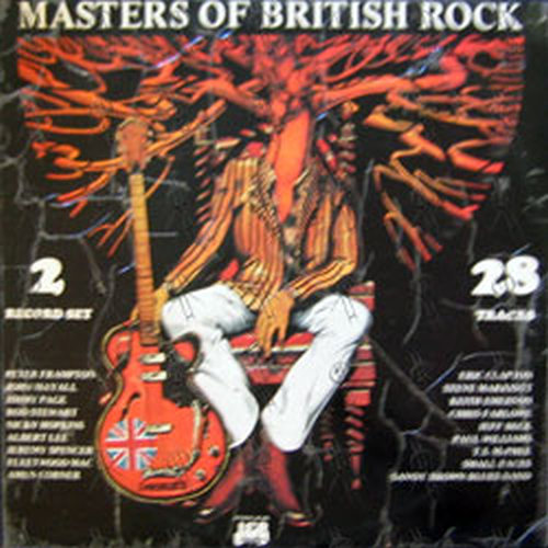 Various Artists Masters Of British Rock 12 Inch Lp