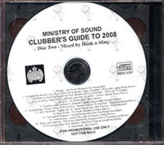 ministry of sound clubbers guide 2008