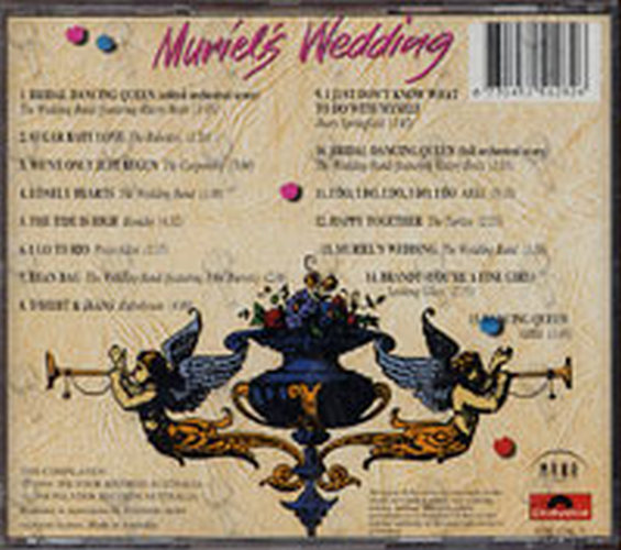 Various Artists Muriel S Wedding Album Cd Rare Records