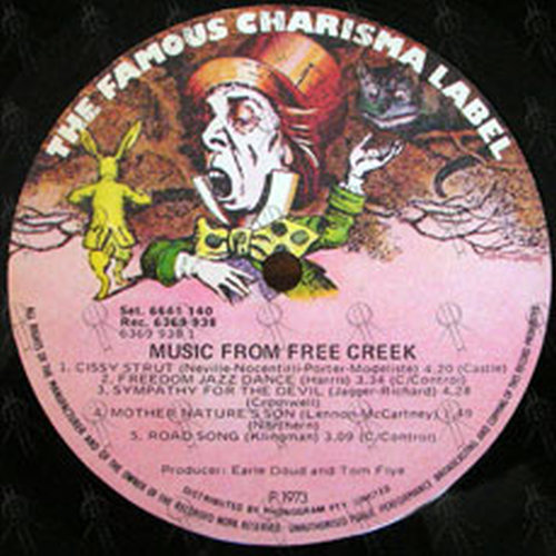 VARIOUS ARTISTS - Music From Free Creek - 4