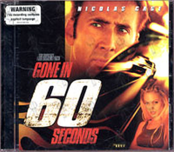 VARIOUS ARTISTS - Music From The Motion Picture: Gone In 60 Seconds - 1