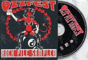 VARIOUS ARTISTS - Ozzfest: Rock Pile Sampler - 1
