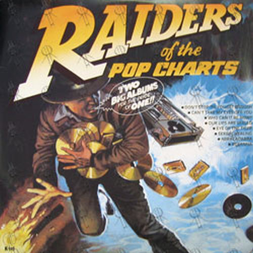 Various Artists Raiders Of The Pop Charts 12 Inch Lp
