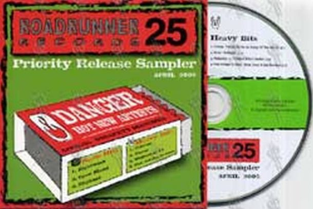 VARIOUS ARTISTS - Roadrunner Records Priority Release Sampler April 2005 - 1