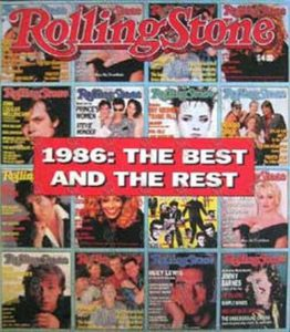 VARIOUS ARTISTS - 'Rolling Stone' - 1986 Yearbook - 1