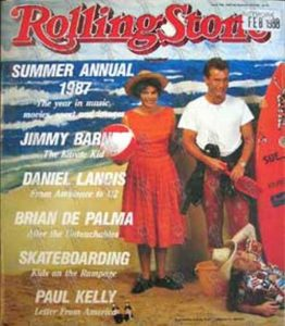 VARIOUS ARTISTS - 'Rolling Stone' - 1987 Yearbook - No. 414 - 1
