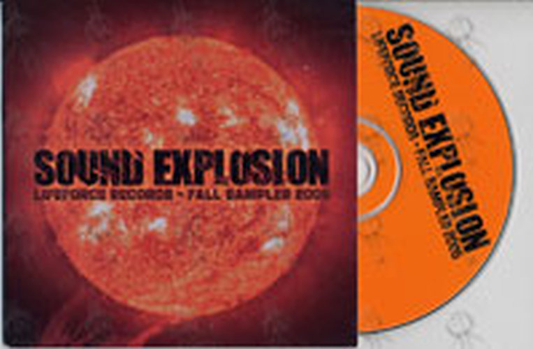 VARIOUS ARTISTS - Sound Explosion: Lifeforce Records Fall Sampler 2005 - 1