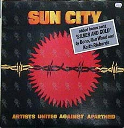 VARIOUS ARTISTS - Sun City (Artists United Against Apatheid) - 1